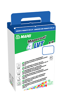 Finální nátěr Mapecoat 4 LVT