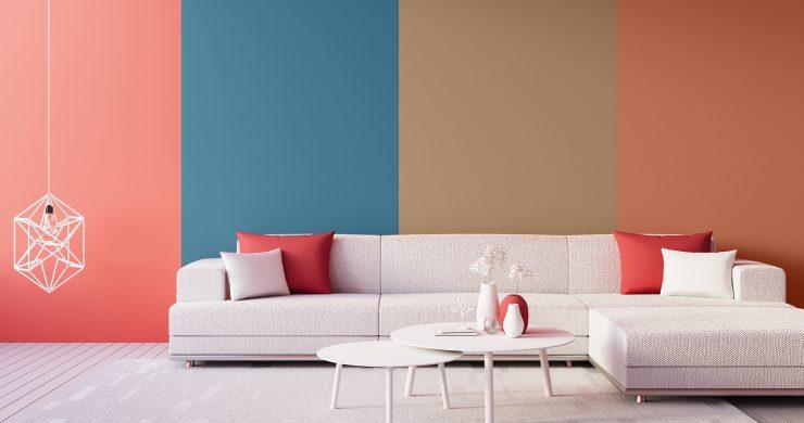 Interiérové barvy roku 2019: Nalaďte se na nejnovější trendy