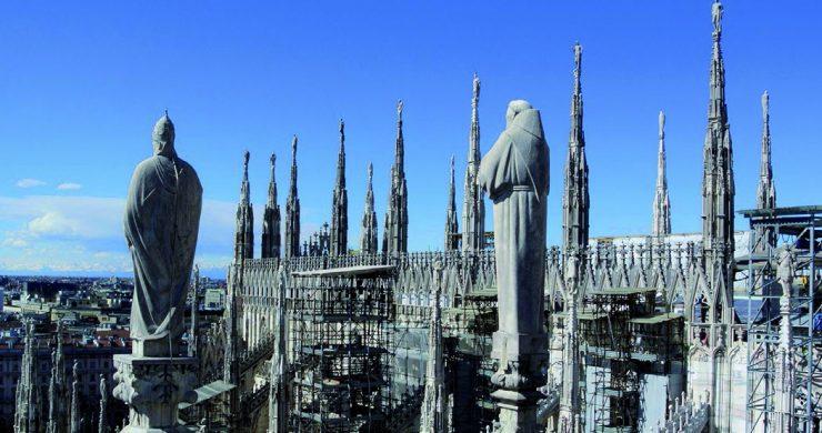 Adoptovali jsme věž na milánské katedrále