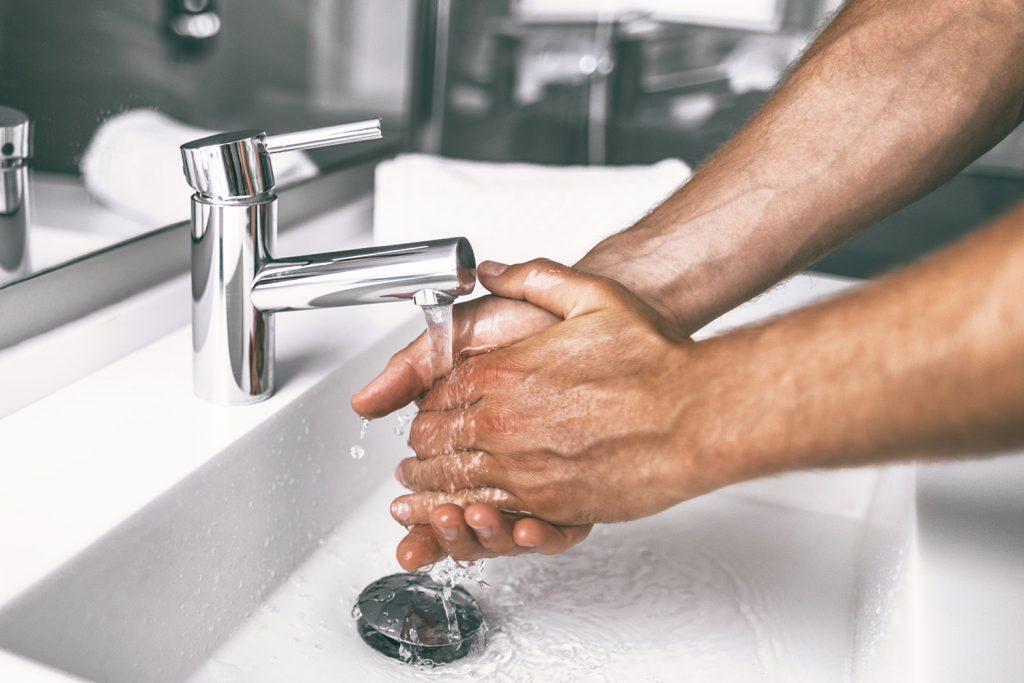 jak si mýt ruce